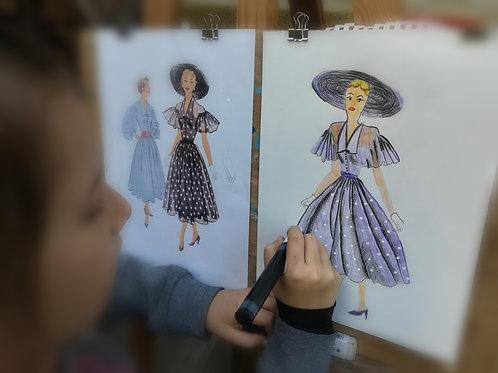 Cours de dessin/peinture (enfant)