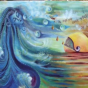 Fresque à Loguivy-de-la-mer