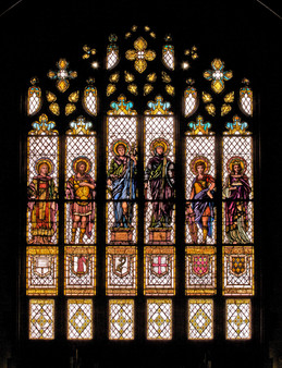 Trinity Stained Glass Window