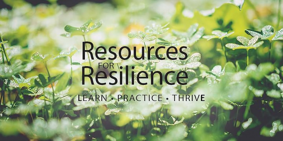 Resources for Resilience: Reconnect Trainings