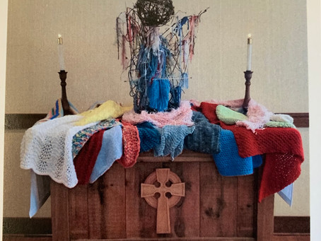 Knitting with a Purpose: Behind the Prayer Shawl Ministry at Good Shepherd, Hayesville