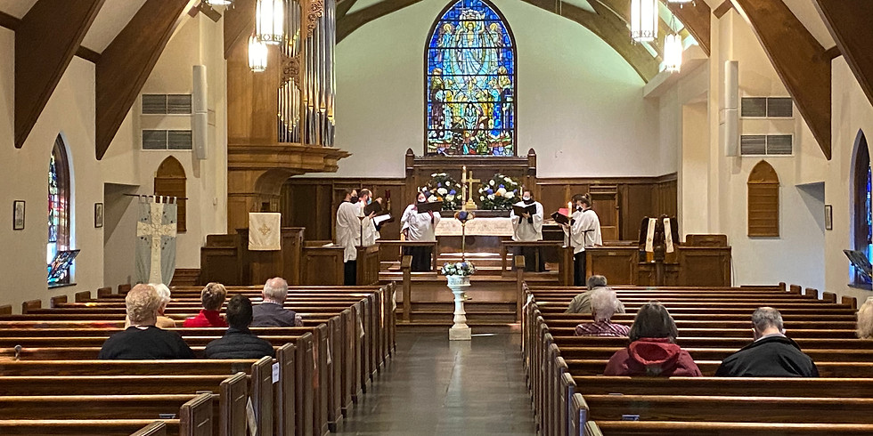 Holy Eucharist (8:00 a.m. in Sanctuary)