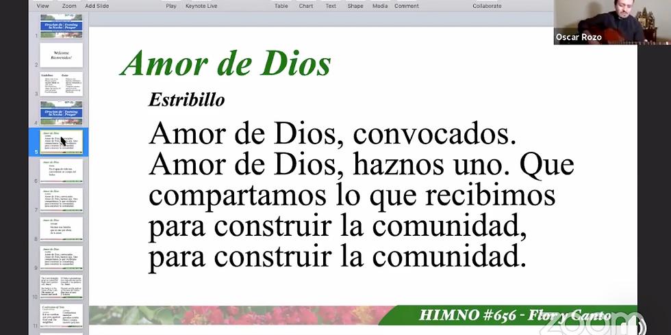 Oración de la Noche / Nightly Blessing (Bilingual)