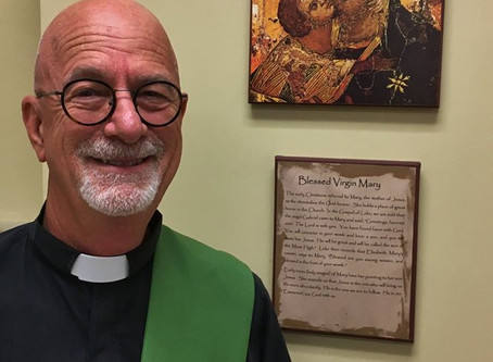 Introducing the Rev. Deacon Tim Ervolina:  A Heart for Justice
