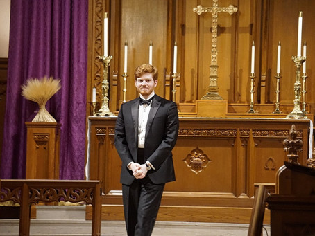 Get to know Thomas Alexander, the new organist at St. Francis, Rutherfordton