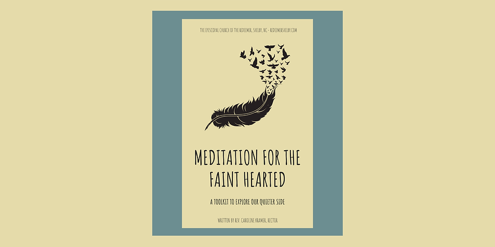 Virtual Lenten Meditation with Redeemer, Shelby