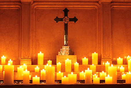 Celtic Evening Service with Eucharist for the First Sunday of Advent for 11/29 at 5:30 p.m.