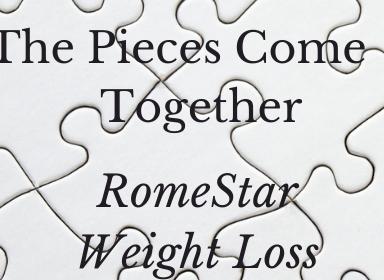 RomeStar Eat Less Lose Weight 8 Week