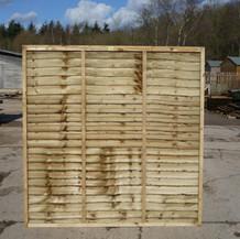 Rustic Lap Panel