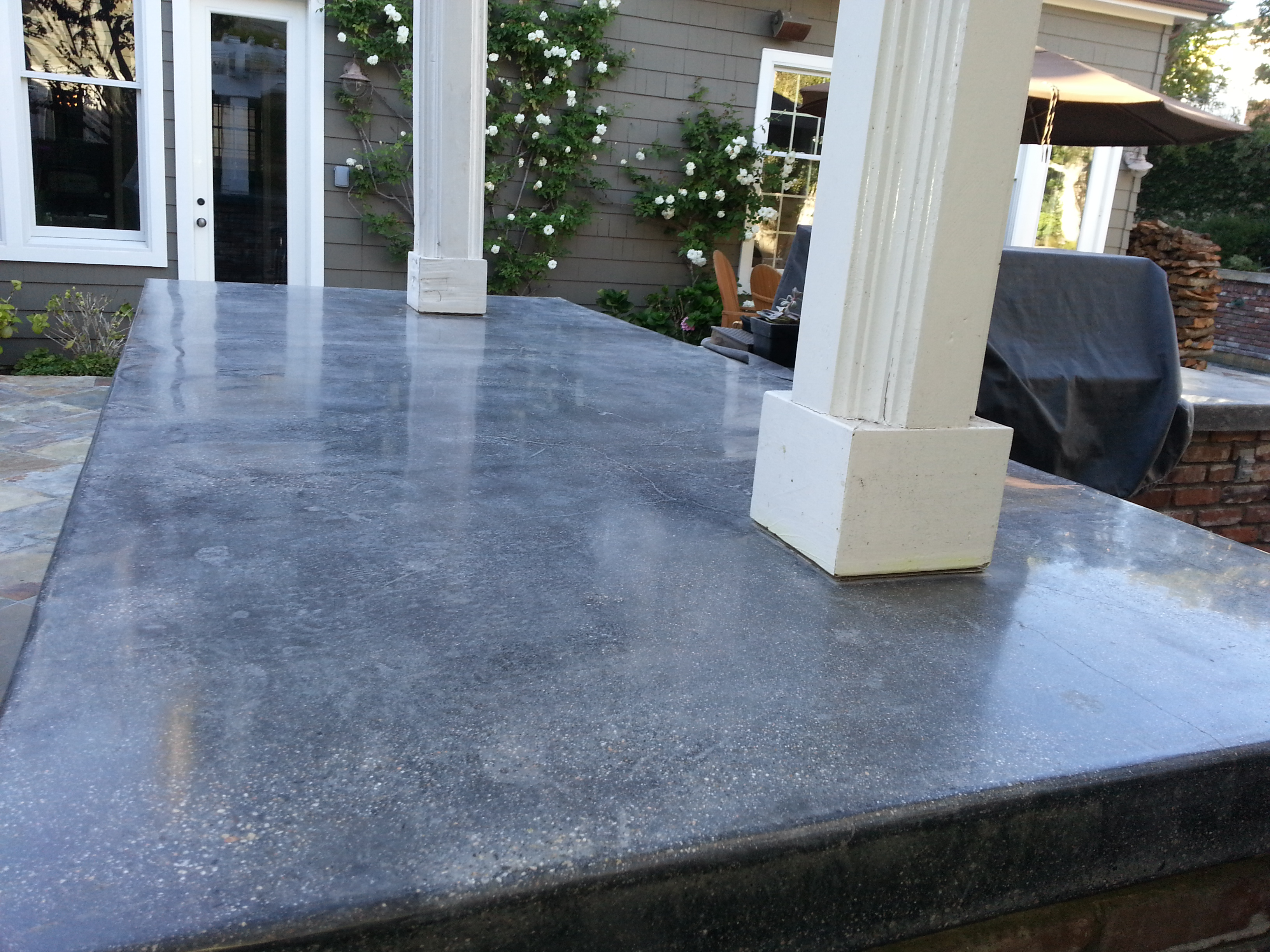 Polished Concrete Counter