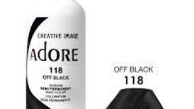 Adore #118 Off Black