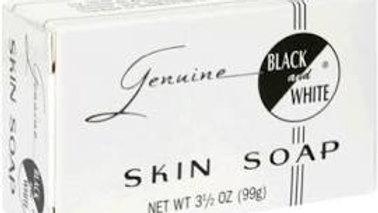 "Genuine ""Black and White"" Skin Soap"