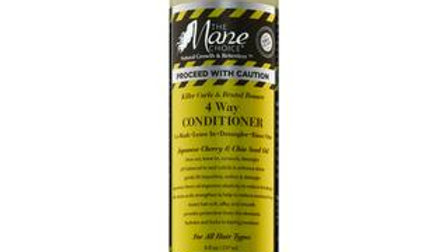 """The Mane Choice """"Proceed With Caution"""" 4 Way Conditioner"""