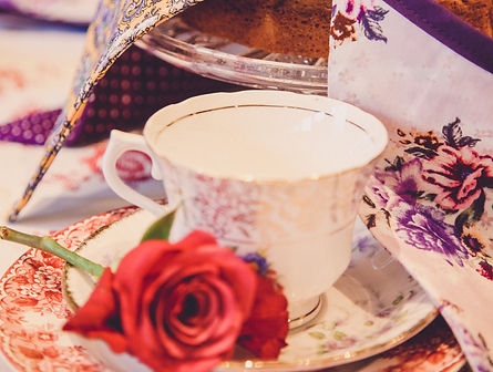 Vintage Cup and Cakes about me