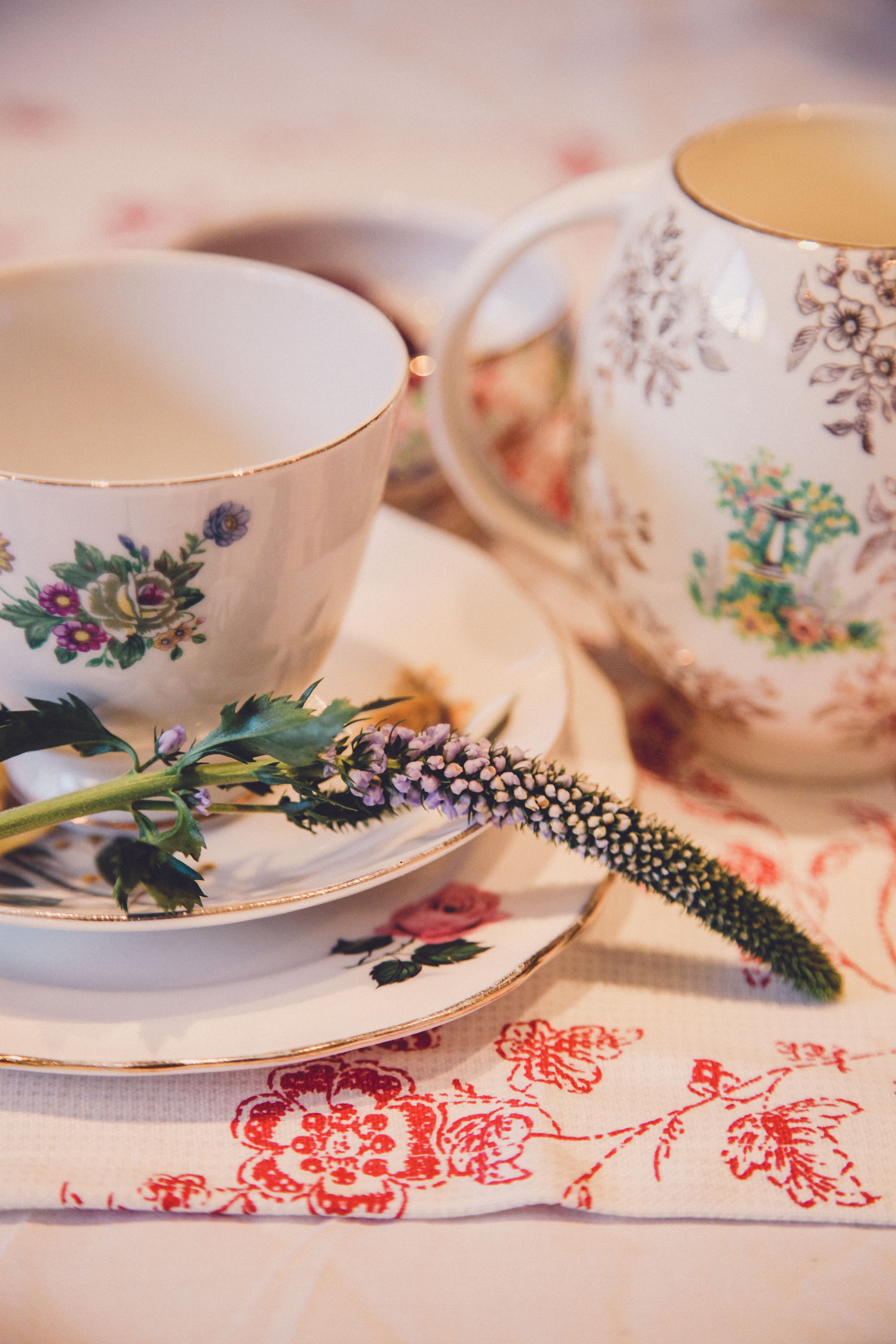 Vintage china hire