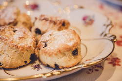 Handmade scones