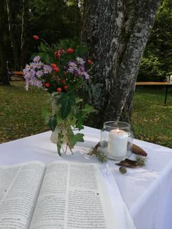 Gottesdienst im Grünen