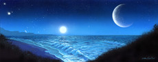 Two Moon Blue