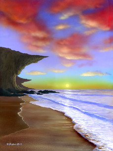 Playa luminosa