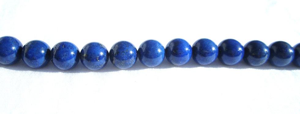 Lapis Lazuli kuler 10mm