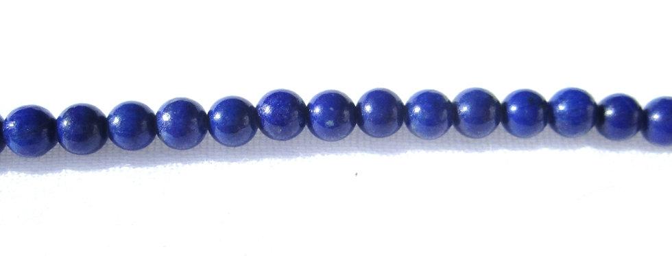 Lapis Lazuli kuler 4mm