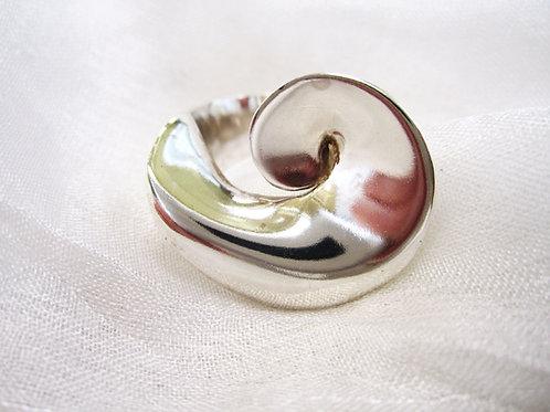 Sølvring spiral