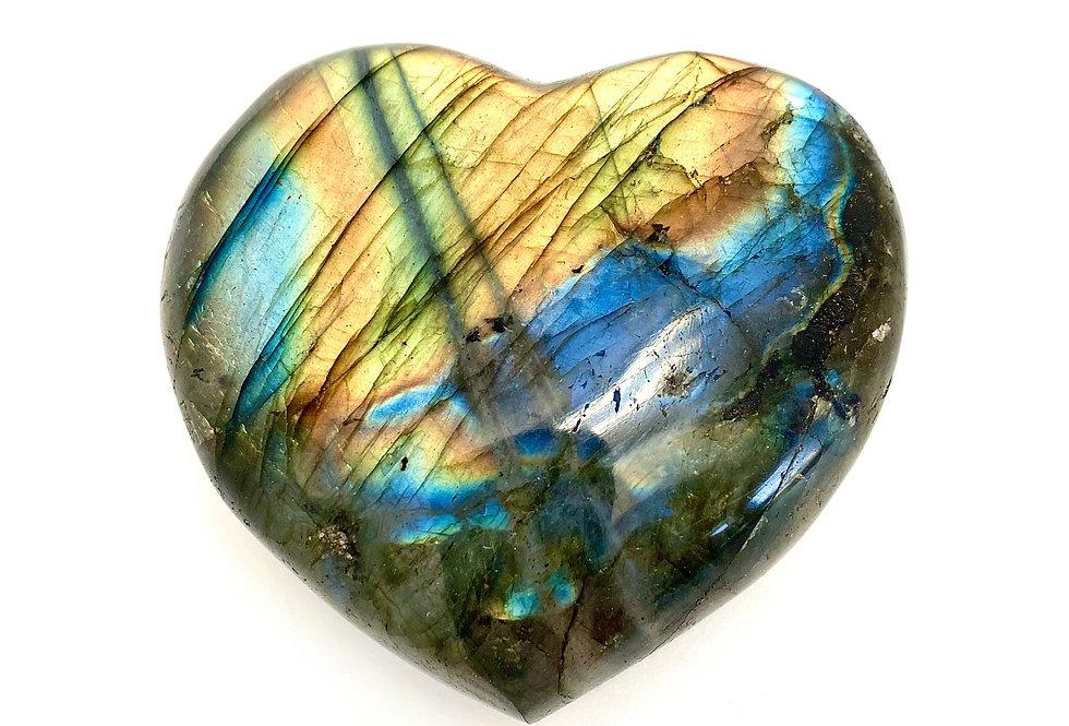 Labradoritt hjerte