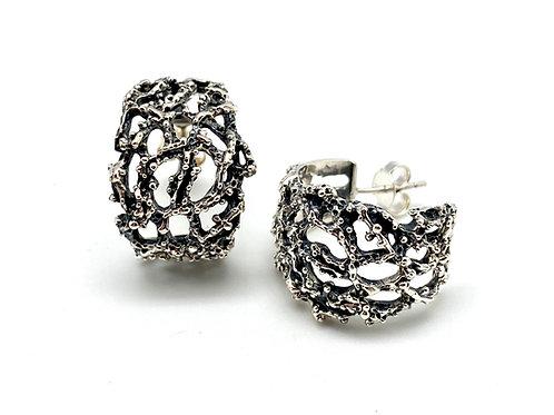 Silver øreheng