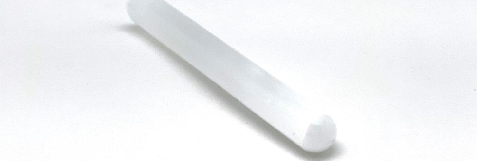 Selenitt - slipt stav