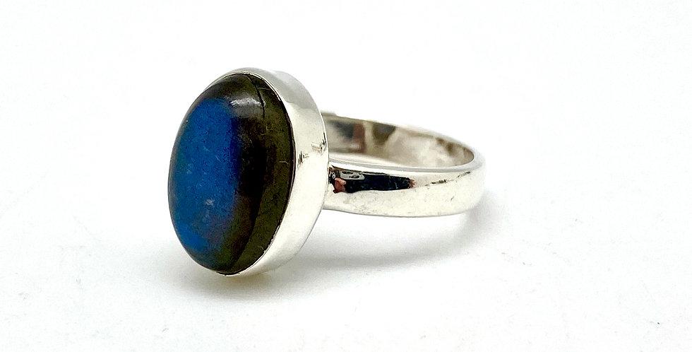 Labradoritt Ring