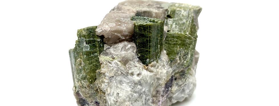 Elbaitt - Verdelitt - Grønn turmalin