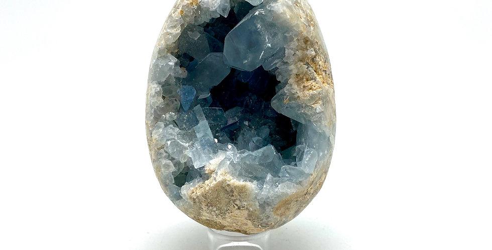 Celestin Geode egg