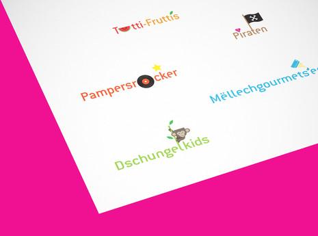 Logos groupes enfants