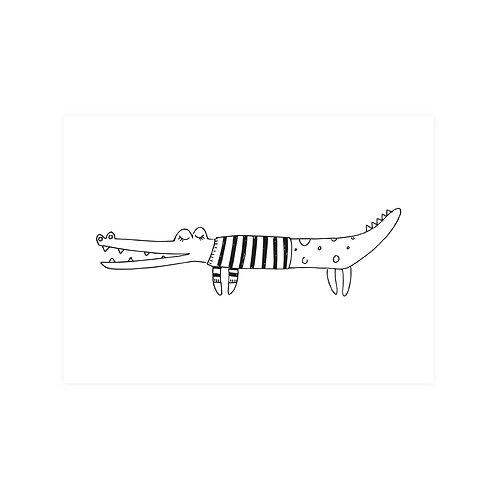 Krokodil | A6 | 4 stuks