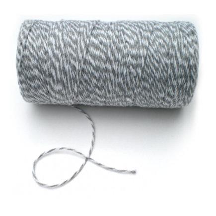 Koord grijs-wit