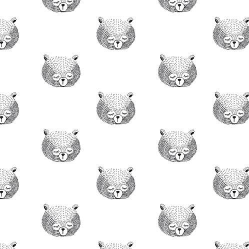 Cadeaupapier beer | 5 stuks