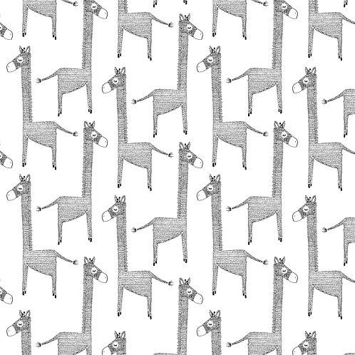 Cadeaupapier giraffe | 5 stuks
