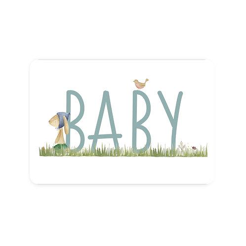 Ansichtkaart 'baby jongen'