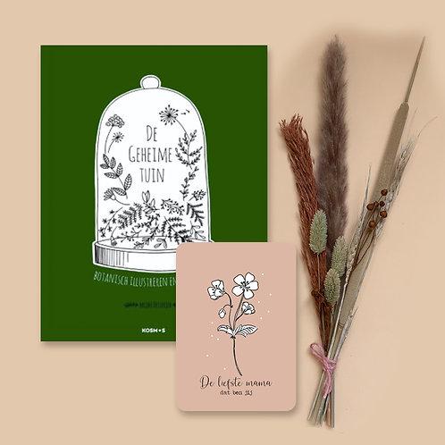 Moederdagpakket boek