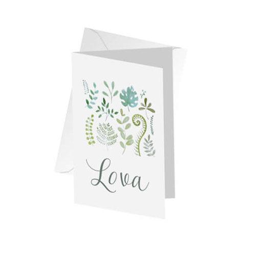geboortekaartje Lova
