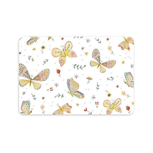 Ansichtkaart 'vlinders in kleur'