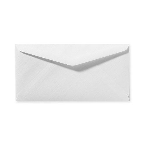 Envelop wit structuurpapier