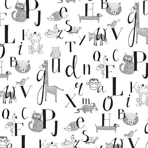 Cadeaupapier ABC | 5 stuks
