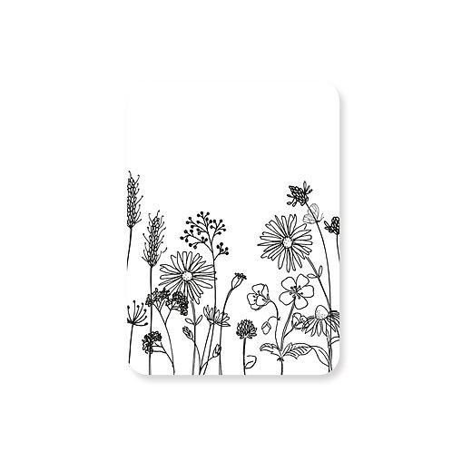 Ansichtkaart botanisch