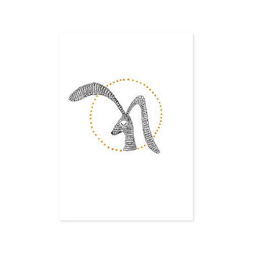 Poster konijn A4