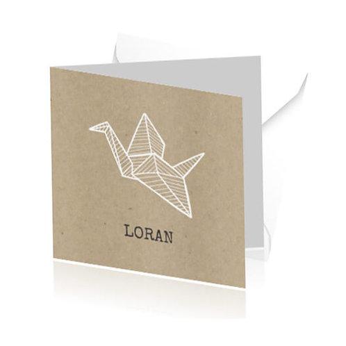 geboortekaartje Loran