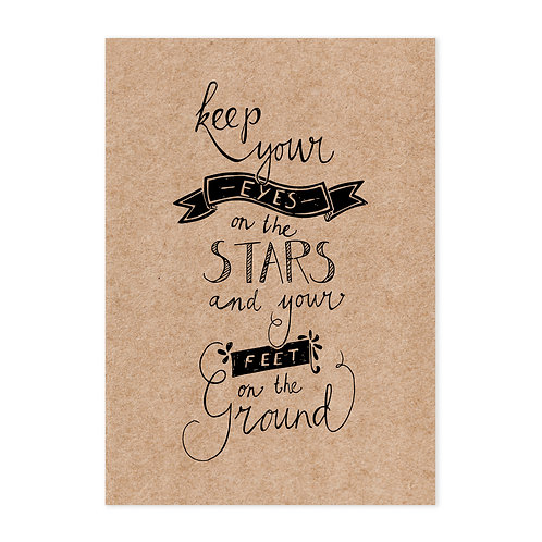 Poster stars A4