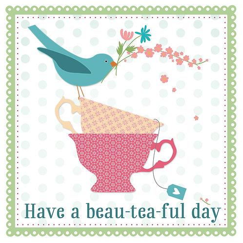 beau-tea-ful | incl.envelop | 5 stuks