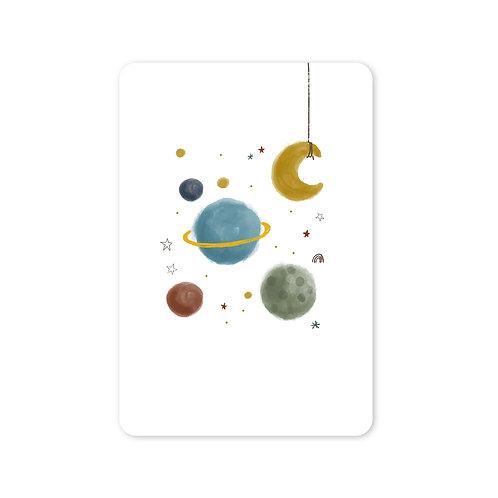 Ansichtkaart heelal | A6 | 10 stuks