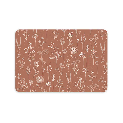 Ansichtkaart 'patroon bloemenveld'